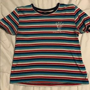 Obey Stripped Shirt